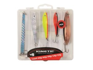 SLUKSETT KYST HORNI&SILDEGLIMT&JEBO HERRING 5pcs KINETIC